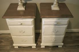 off white nightstand set the workshop