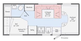 30 Foot Travel Trailer Floor Plans by Winnebago Rvs For Sale Camping World Rv Sales