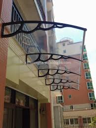 modern house design electric outdoor glass awning buy glass modern house design electric outdoor glass awning