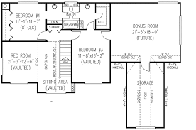 2 bedroom cottage plans 3 or 4 bedroom country farmhouse plan 6543rf architectural