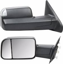 dodge ram 2500 tow mirrors 13 15 dodge ram 1500 2500 3500 flip up tow mirrors led puddle turn