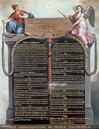declaration of the rights of man and of the citizen pictures