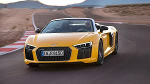 audi germany flag audi prices the 2017 r8 v 10 spyder at 175 100