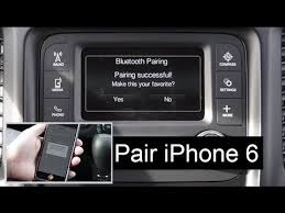 how to connect phone to jeep grand jeep phone pair bluetooth setup uconnect 5 0 system w iphone 6