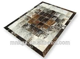 Patchwork Cowhide Cowhide Patchwork Rug Hair On Leater Carpet Product Directory
