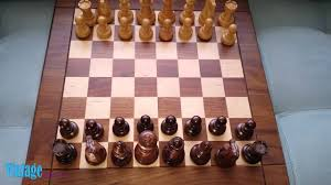 drueke chess set with wooden board vintage youtube