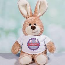 personalized easter bunny personalized easter bunnies easter plush giftsforyounow