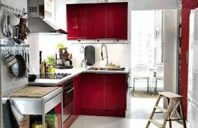 White Island Light Kitchen Design For Small Space Recessed Wood Doors L Shape Kitchen