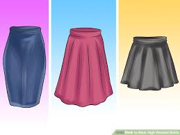 high waisted skirt how to wear high waisted skirts 12 steps with pictures