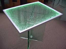 replace glass in coffee table with something else shattered glass table loris decoration