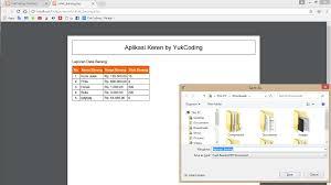 tutorial desain web pdf membuat report laporan pdf dengan html2pdf dan php mysqli oop