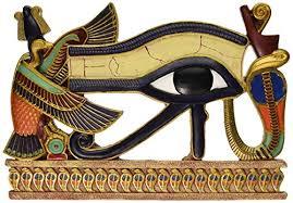 design toscano eye of horus wall sculpture color