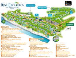 Panama City Beach Map Royal Decameron Golf Beach Resort U0026 Villas U2013 Playa Blanca Transat