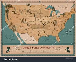 Maps Of United States Of America by Antique Map United States America Stock Vector 229697980