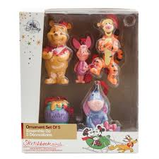 winnie the pooh sketchbook mini ornament set shopdisney