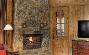 stained rustic fireplaces stovers