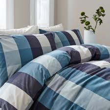 linea fletcher check duvet cover set house of fraser