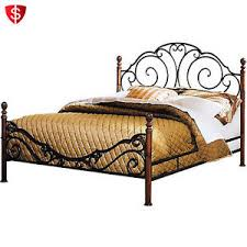Wood And Iron Bed Frames Creative Cast Iron Bed Frame Ecoinscollector
