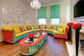 Modern Living Rooms In Colorful Living Room Chairs  Colorful - Colorful living room chairs