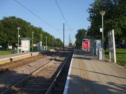 King Henry's Drive tram stop