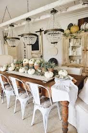 rustic garden fall dining room table liz marie blog