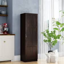 kitchen pantry wood storage cabinets wood food pantries cabinets you ll in 2021 wayfair