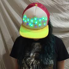 70 outfitters accessories led light up hat from