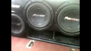 Pioneer Photo Box Bass Trick Slow Mo Suono 1500 1 Juice Box 37 Hz 4 Pioneer