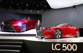 lexus lf lc red first look 2017 lexus lc 500 canadian auto review