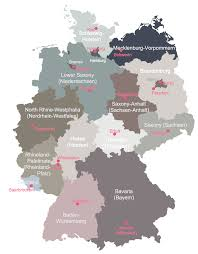 Map With States by Download Germany Map With States And Cities Major Tourist