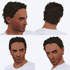 mod the sims cherub curly hair all ages both genders true