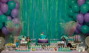 the little mermaid birthday party ideas photo 3 of 15 catch my