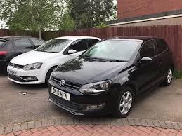 volkswagen polo black vw polo moda 1 2l petrol rare black 75k 2010 60 in alum rock