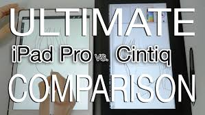 Home Designer Pro Vs Ipad Pro Vs Cintiq Comparison Drawing Test Youtube