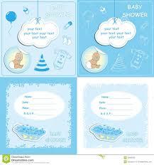 neugeborene jungen babyparty 2 stock abbildung bild 30066933