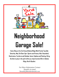 community garage sale flyer template garage sale pinterest