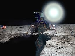 Picture Of Flag On Moon More Creativity Fun And Inspriation