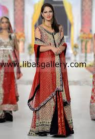 bridal sharara designs wedding lehanga sharara 2014 collection by