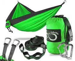 all inclusive double lightweight camping hammock u0026 tree straps