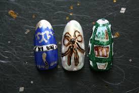 Diamond Trellis Egg Faberge Egg Nail Art For Easter Nevertoomuchglitter Nail Wonderland