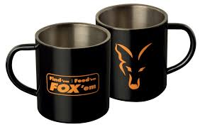 Fox Mug by Fox Stainless Steel Mug U2013 Chapmans Angling