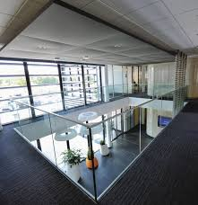glass railing with panels indoor for balconies sabco sadev