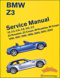 z3 shop manual service repair bentley bmw book m roadster coupe ebay