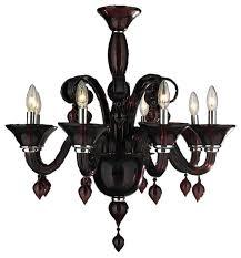 Murano Blown Glass Chandelier Murano Venetian Style 8 Light Blown Glass Chandelier 27