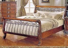 Cherry Wood Sleigh Bed Wooden Sleigh Beds Queen Size Hd Wallpapers Photos Hd Desktop