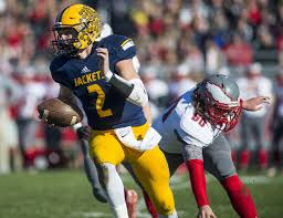 bentley college football football player of the year top 10 joey bentley of ithaca mlive com