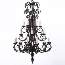 wrought iron foyer light update your home with this beautifully tiered wrought iron