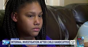 hairstyles for black 40 year olds 11 year old black girl handcuffed at gunpoint by police searching