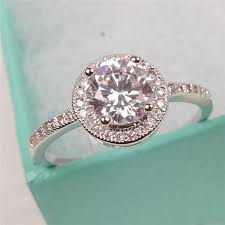 engagement rings flower design 2018 classic engagement rings for best gift 925