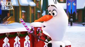 film frozen intero olaf s frozen adventure primo trailer v o del corto natalizio
